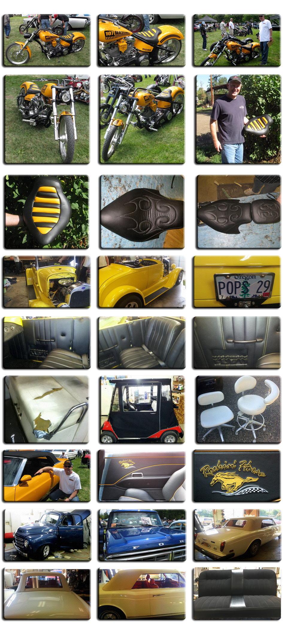 Customized upholstery | Eagle Point,, OR | Burns Auto Upholstery | 541-826-5887