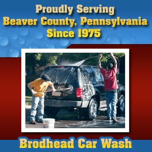 Car Washer  - Beaver, PA  - Brodhead Car Wash - Car Washing