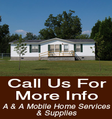 Mobile Home Furniture - Waynesville, NC - A & A Mobile Home Services & Supplies - Furniture