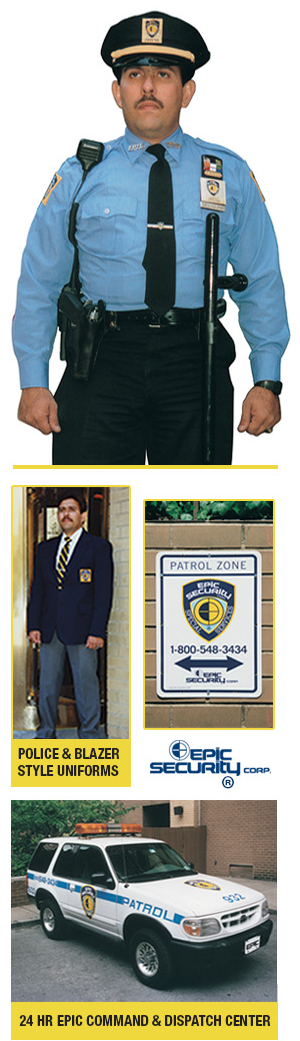 Security Guards | New York, NY - Epic Security Corp