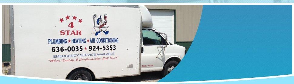 Plumbing | Bryan, OH | 4 Star Plumbing, Heating, and Air | 419-636-0035