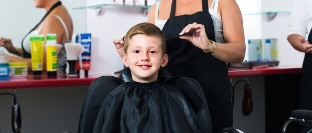 Hair cut for children
