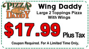 Pizza Daddy coupon