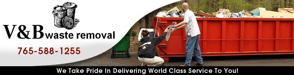 Waste Removal Lafayette, IN - V & B Waste Removal 765-588-1255
