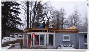 Additions | Cadillac, MI | Clous Construction | 231-775-0788