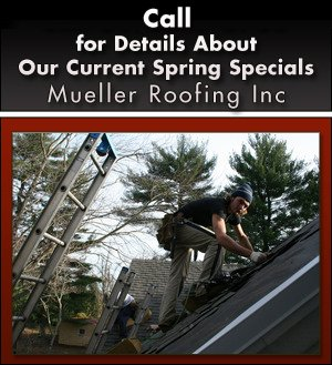 Shingle Roofing Sloped Roofs - Mueller Roofing Inc - Joliet, IL