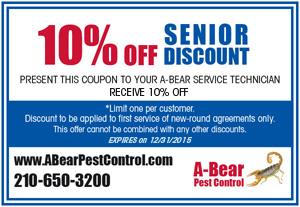 A-BEAR Pest Control Coupons - San Antonio, TX