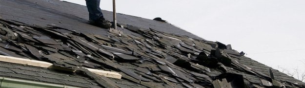 Tearing roof