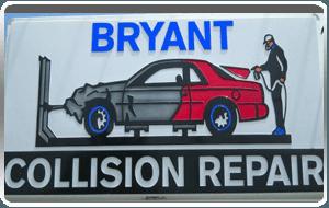 Bryant Collision Logo