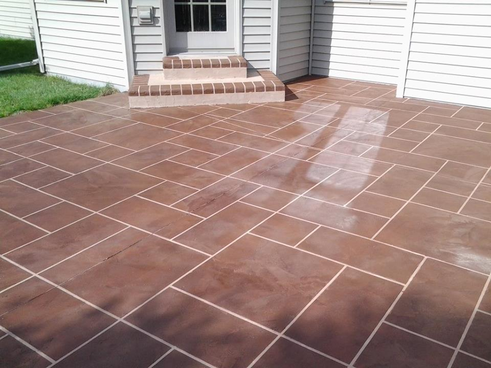 Textured Concrete Overlays