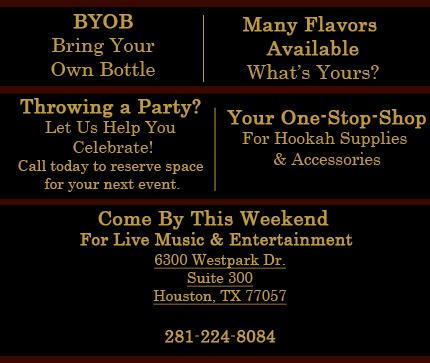 Hookah - Houston, TX - Kaif Café