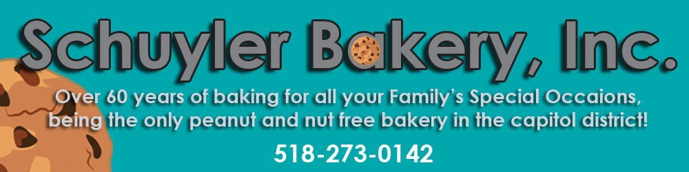 Cakes | Pastries | Schuyler Bakery, Inc. | Watervliet, NY