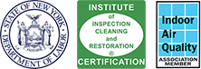 State of New York Department of Labor, Institute of Inspection Cleaning and Restoration, Indoor Air Quality