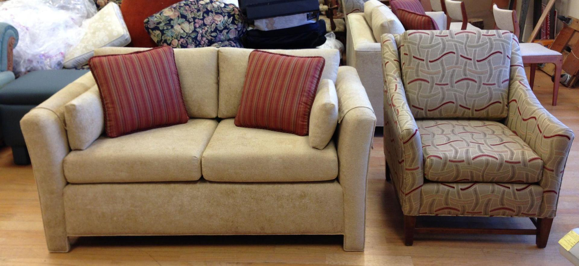 Custom couch and chair