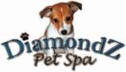 Diamondz pet spa - logo