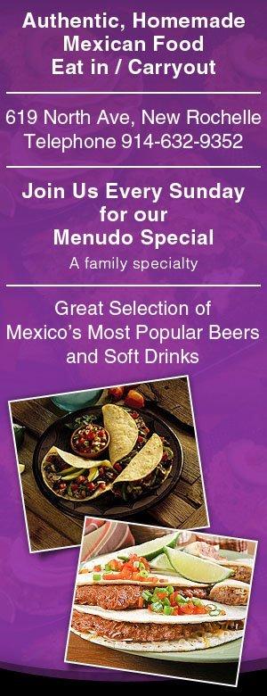 Mister Taco - Mexican Restaurant - New Rochelle, NY