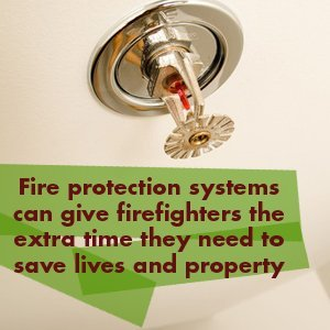 Fire Protection Contractor - Whidbey Island, WA - Harbor Plumbing - Fire protection systems can give firefighters the extra time they need to save lives and property