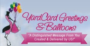 Yard Card Greetings & Balloons-Logo