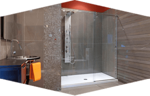 Glass Shower Door | South Boston, MA | Boston Mirror Corp | 617-268-5880