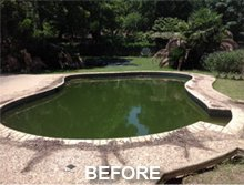 Before and After | New Braunfels,  TX    | All Seasons Pools | 830-626-7665 (830- 626-POOL)