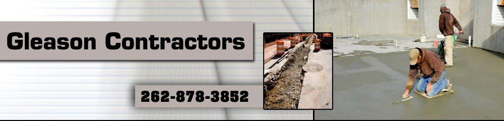 Concrete Contractors - Racine, WI - Gleason Contractors