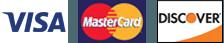 Visa | Mastercard | Discover