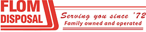 Flom Disposal - logo