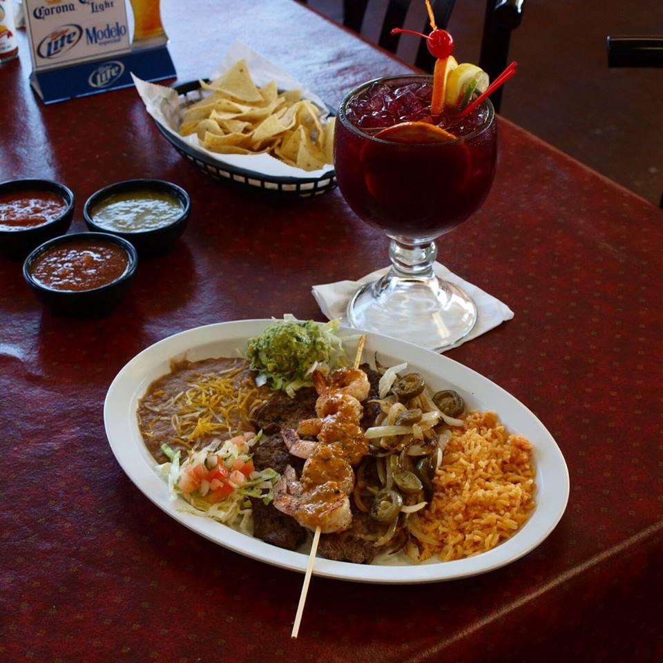 Mexican shrimp dish