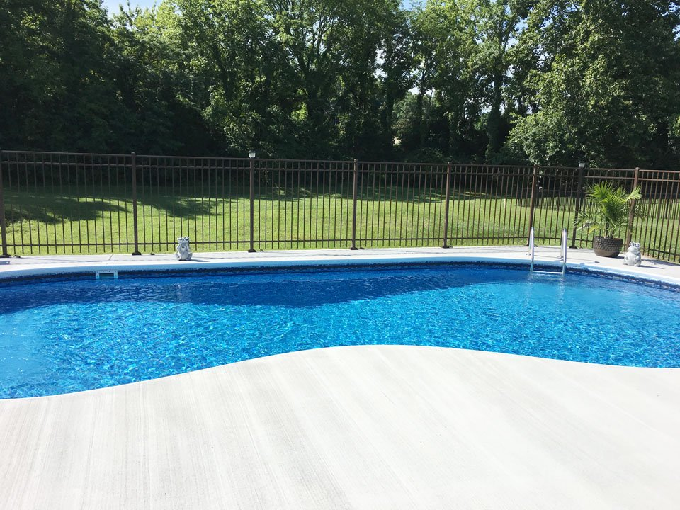 Swimming pool fencing