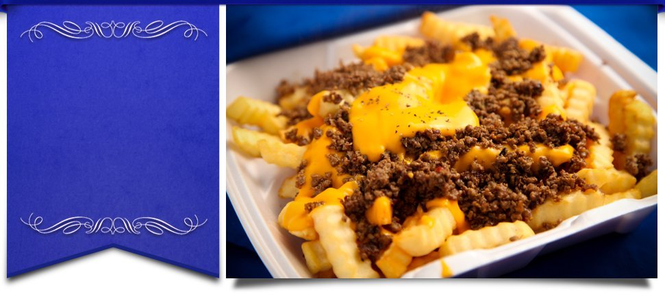 Beef and cheese fries