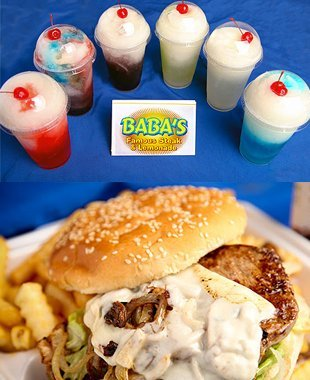 Shakes and burger