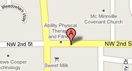 West Hills Physical Therapy LLC - 2200 SW 2nd St. McMinnville, OR