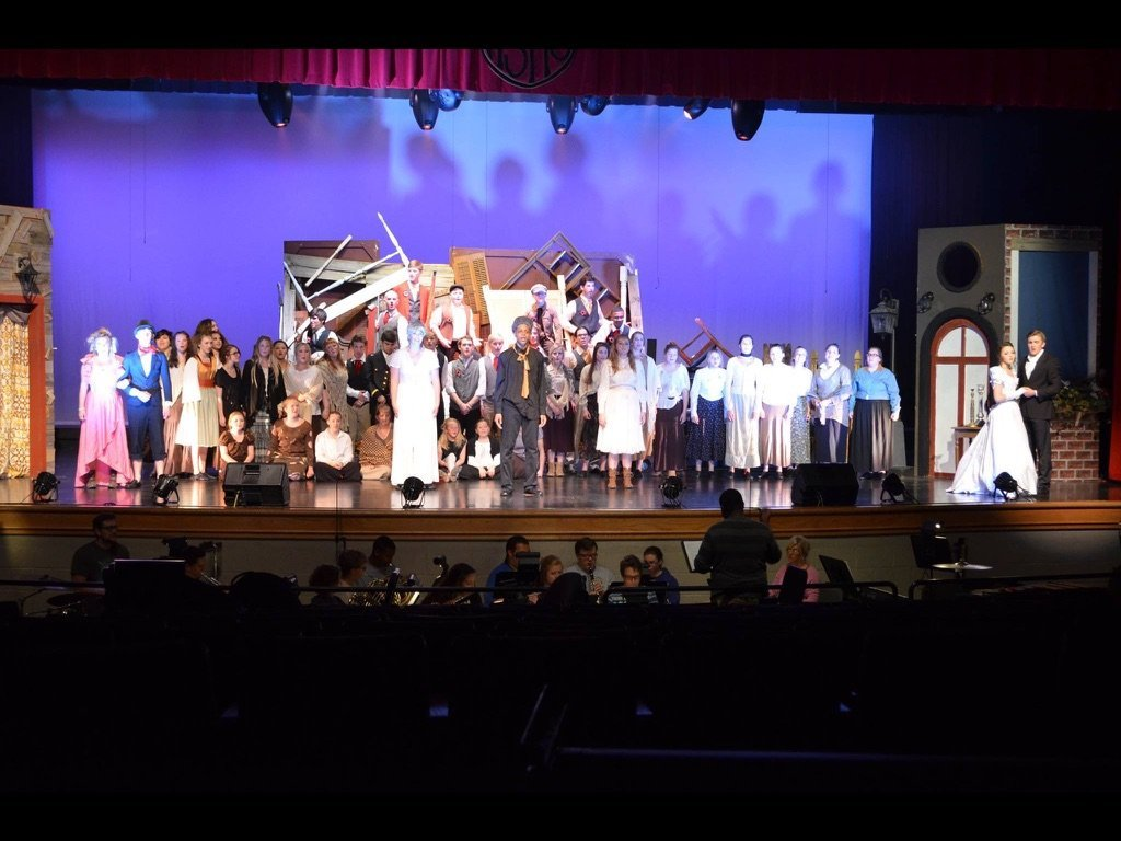 Muscle Shoals High School Les Mis