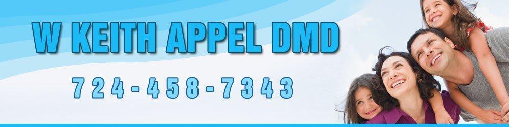 Family Dentist - Grove City, PA - W Keith Appel DMD