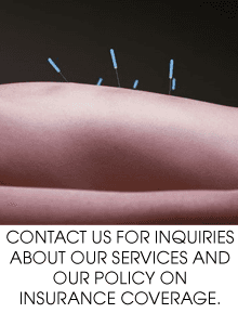 Acupuncture - Denton, TX - Acupuncture Wellness Center - Accupuncture - Contact us for inquiries about our services and our policy on insurance coverage.