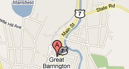 Seekonk Veterinary Hospital - Great Barrington, MA - map