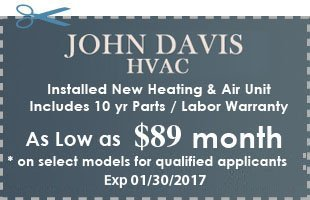 JD HVAC coupons - Atlanta, GA