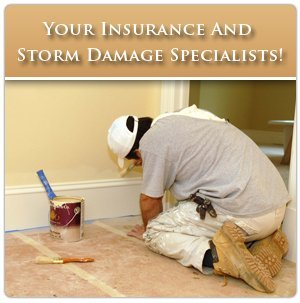 Storm Damage Repair - Dothan, AL - Custom Roofing And Construction - interior painting -  Your Insurance And Storm Damage Specialists!