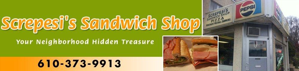 Sandwich Store - Reading, PA - Screpesi's Sandwich Shop