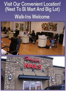 Nail Services - Medford, OR - Happy Nails