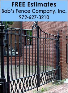 Fencing Avalon Tx Bob S Fence Company Inc