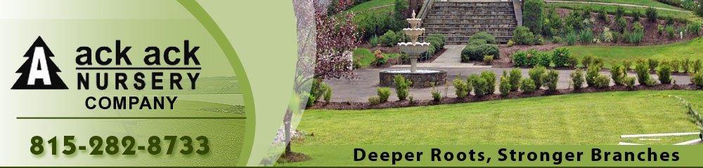 Landscape Design Loves Park, IL - Ack Ack Nursery Company