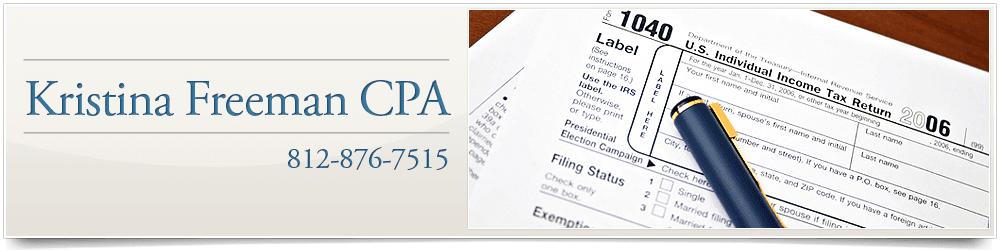 CPA - Ellettsville, IN  - Kristina Freeman CPA