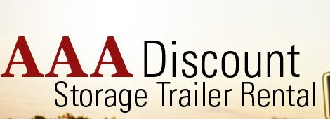 AAA Discount Storage Trailer Rental