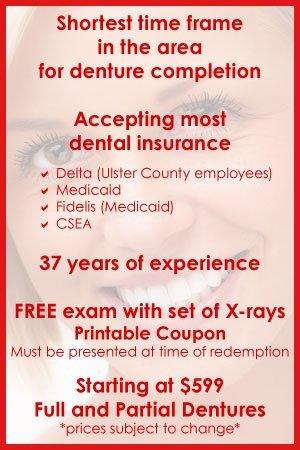 Dentures - Kingston, NY - Empire Dental