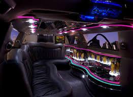 6, 8, 10 Passenger - Lincoln Limousine - Interior
