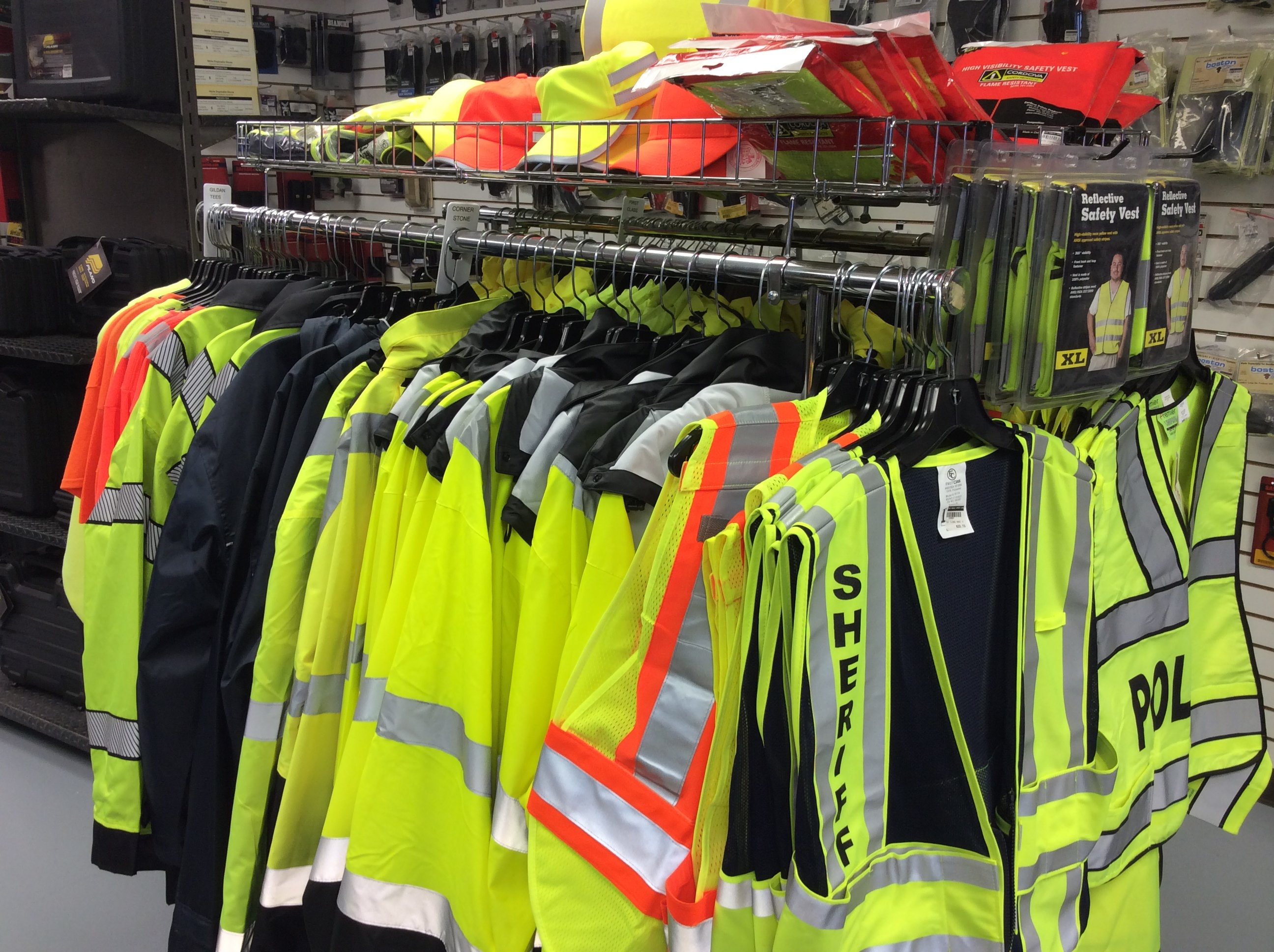 Security Uniform and Reflective Clothing