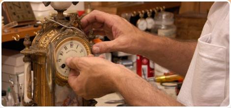 Fixing an old clock