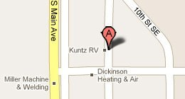 Kuntz RV 1154 1st Av SE Dickinson, ND 58601-8602