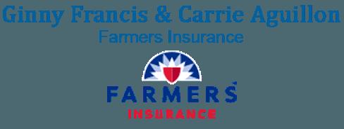 Ginny Francis & Carrie Aguillon Farmers Insurance - Logo